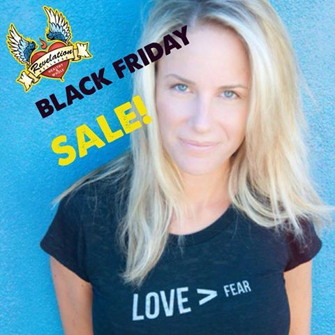 Oh yes.. Were in on the crazy! Black Friday sale on all Rev Well Gear and DVDS. 25% off all purchases over $100! Wear your heart! http://www.revelationwellness.org/revelation-wellness-store/#!/~/category/id=0&inview=category2901598&offset=0&sort=normal