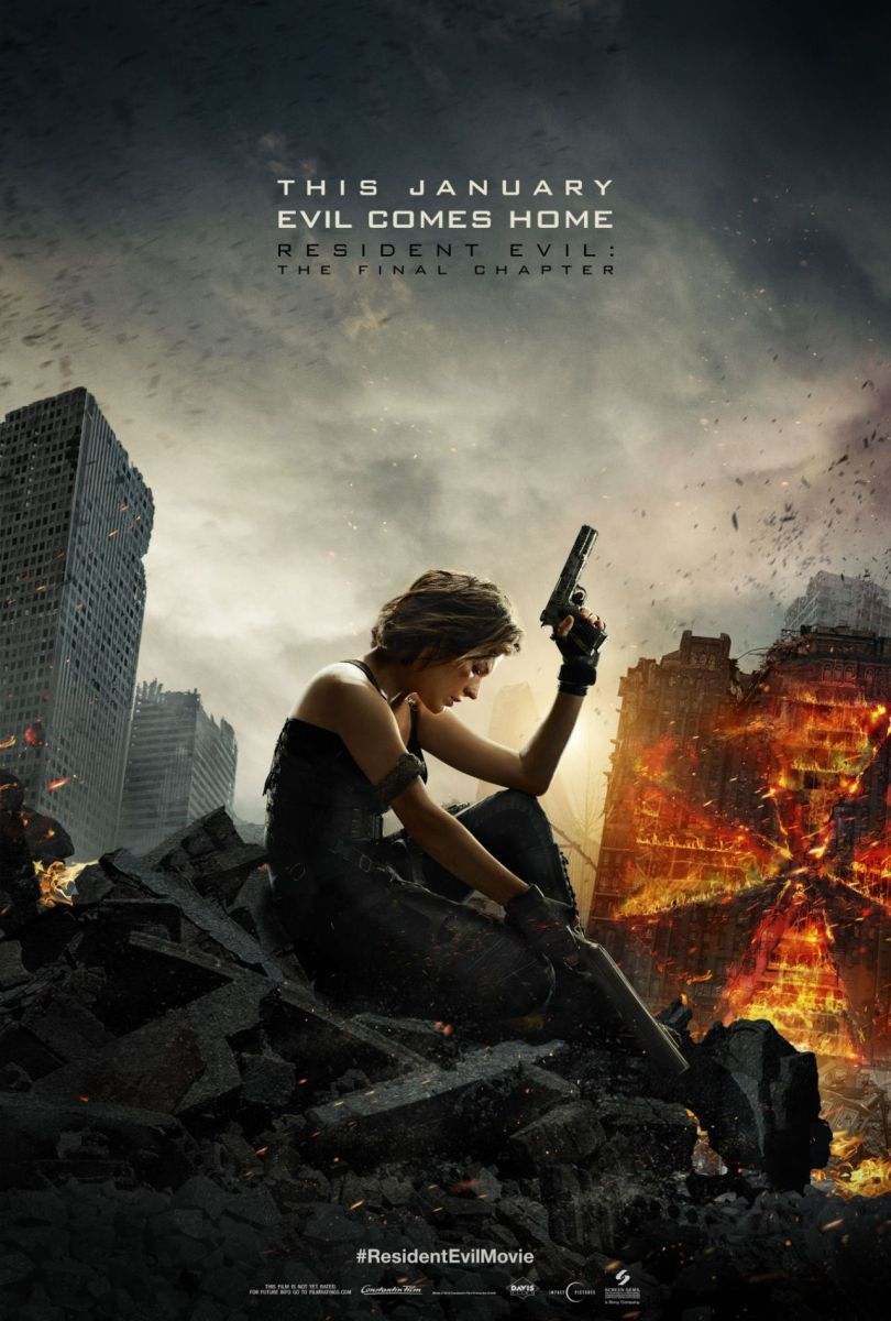 Milla Jovovichregresade nuevo con su papel de Alice. Resident Evil: The Final Chapter