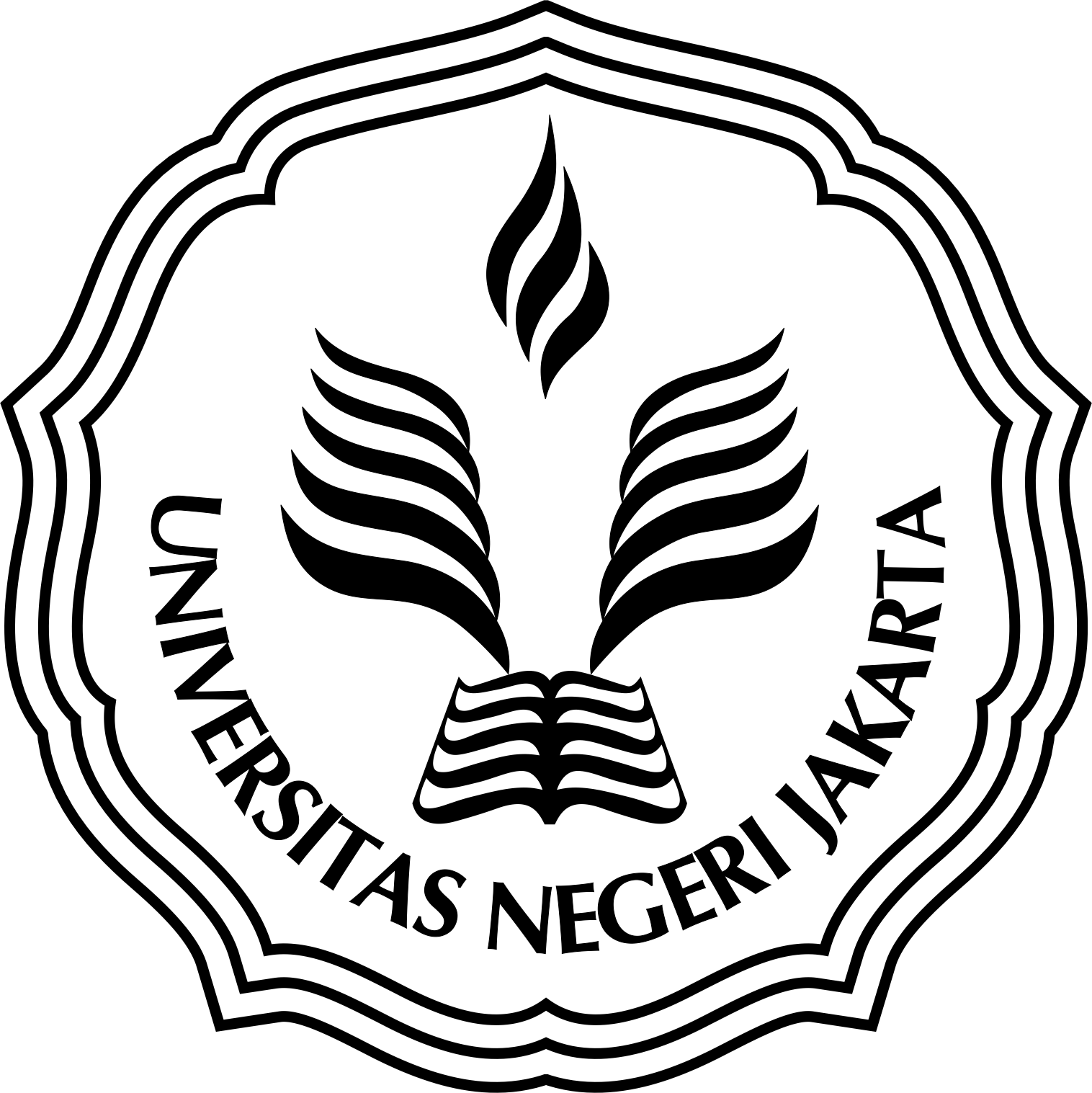Logo Universitas Negeri Jakarta Vector Download
