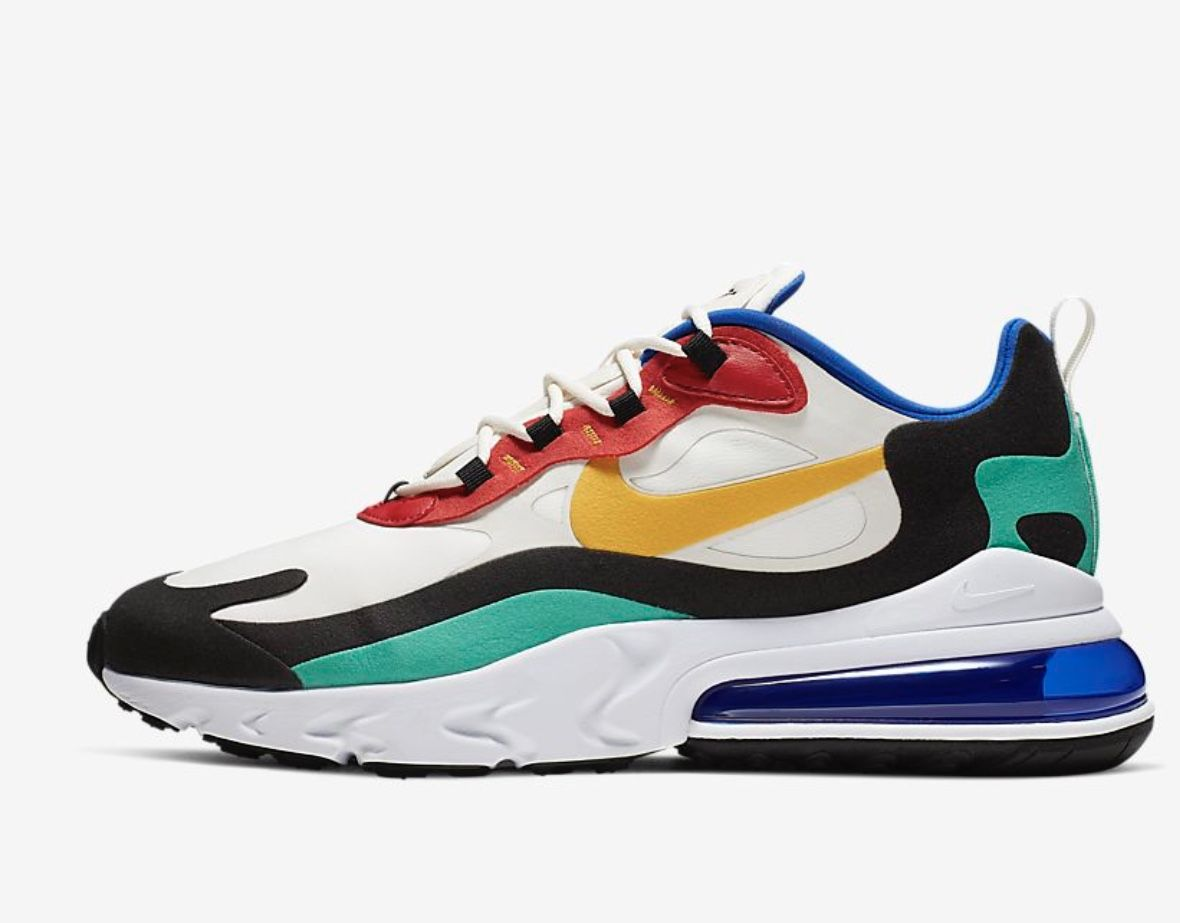 The Air Max 270 React is the latest Nike creation