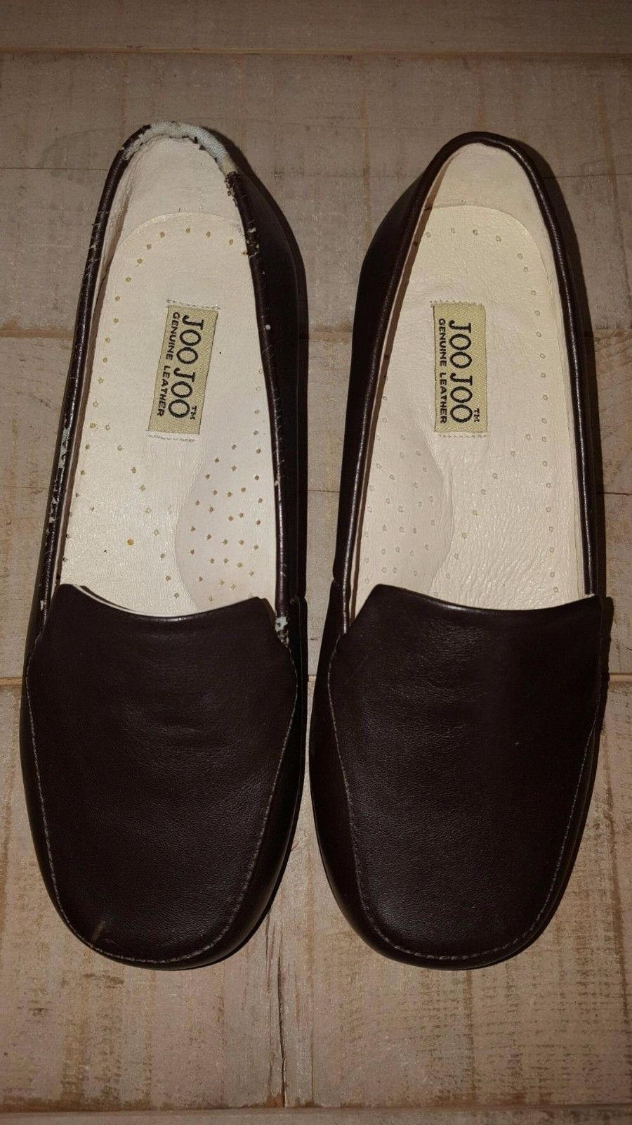 JOOJOO INTERNATIONAL TRIPLE M PLUS ESTHER BROWN WIDE WOMEN'S COMFORT SHOES