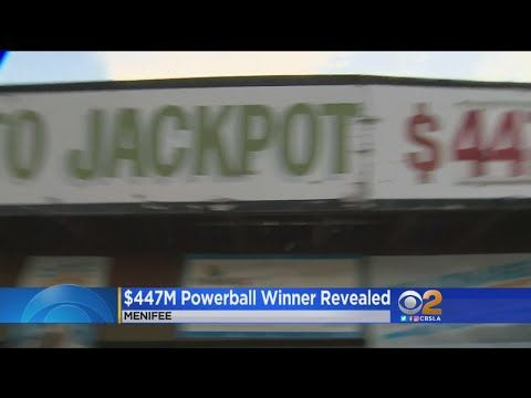 Winner Of $447 Million Powerball Jackpot Steps Forward -- Sort Of - (More info on: https://1-W-W.COM/lottery/winner-of-447-million-powerball-jackpot-steps-forward-sort-of/)
