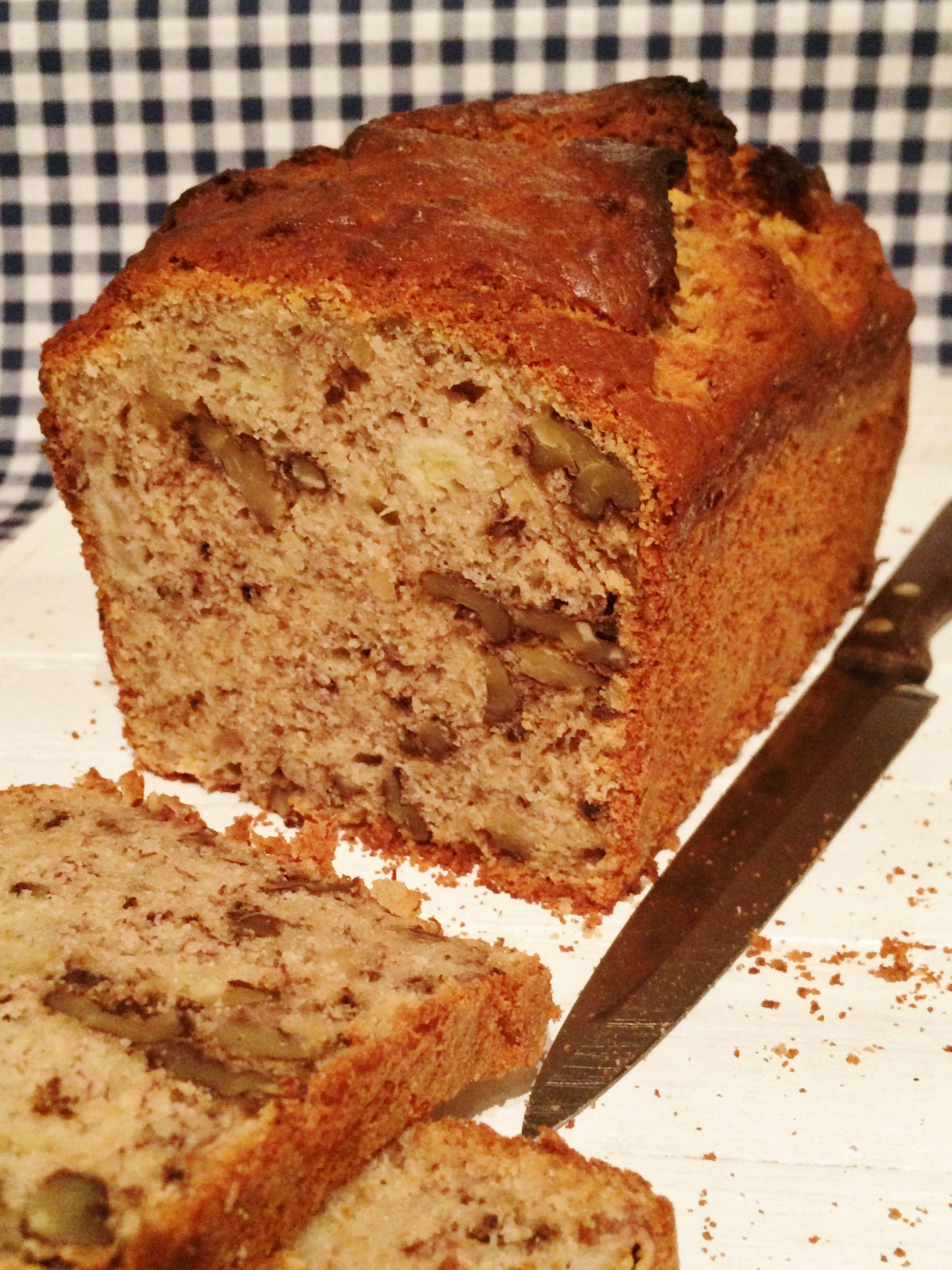 Banana and walnut cake recipe by rosemary shrager from