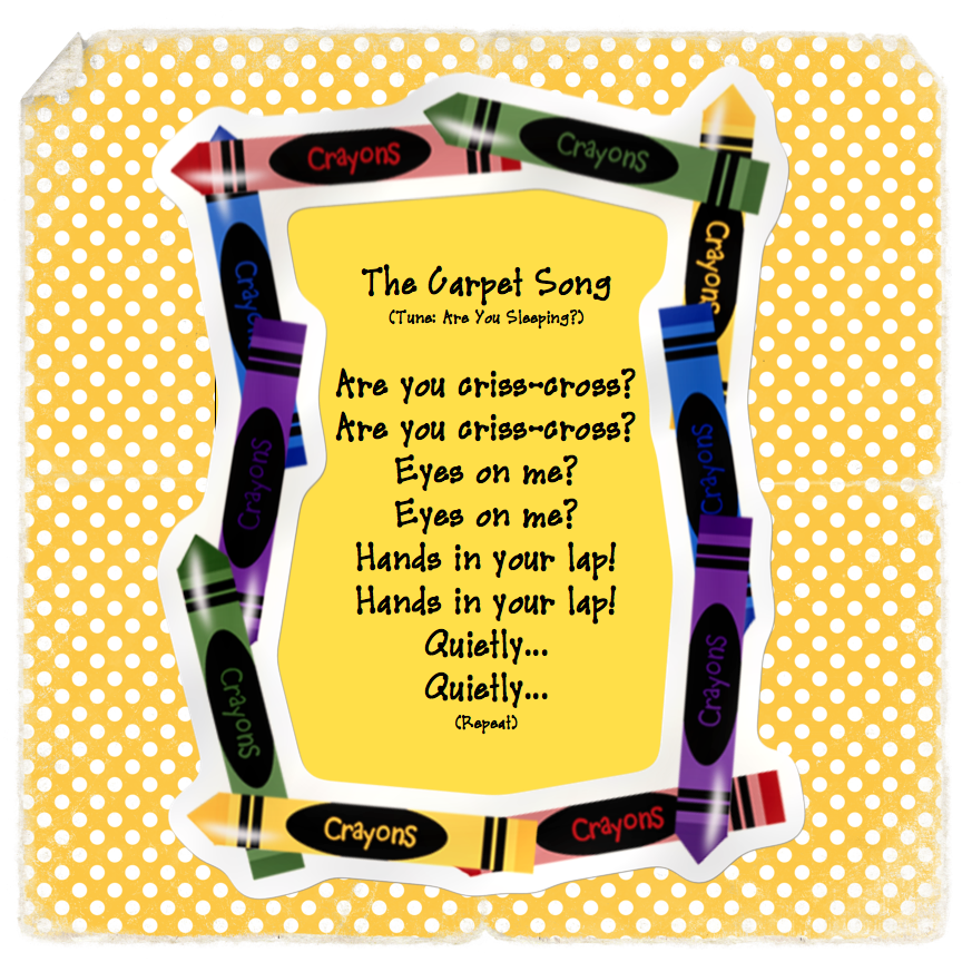 The Carpet Song. NEED TO PRINT!