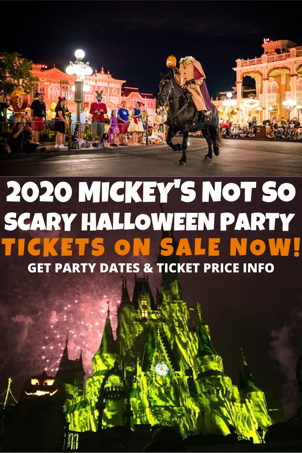 Mickey's Not So Scary Halloween Party 2020 Dates,Tickets