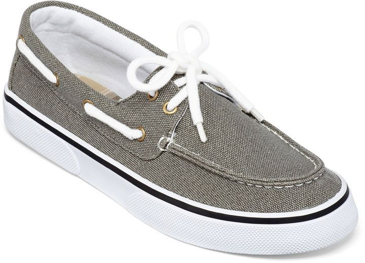 ST. JOHN'S BAY St. Johns Bay Inlet Mens Canvas Boat Shoes