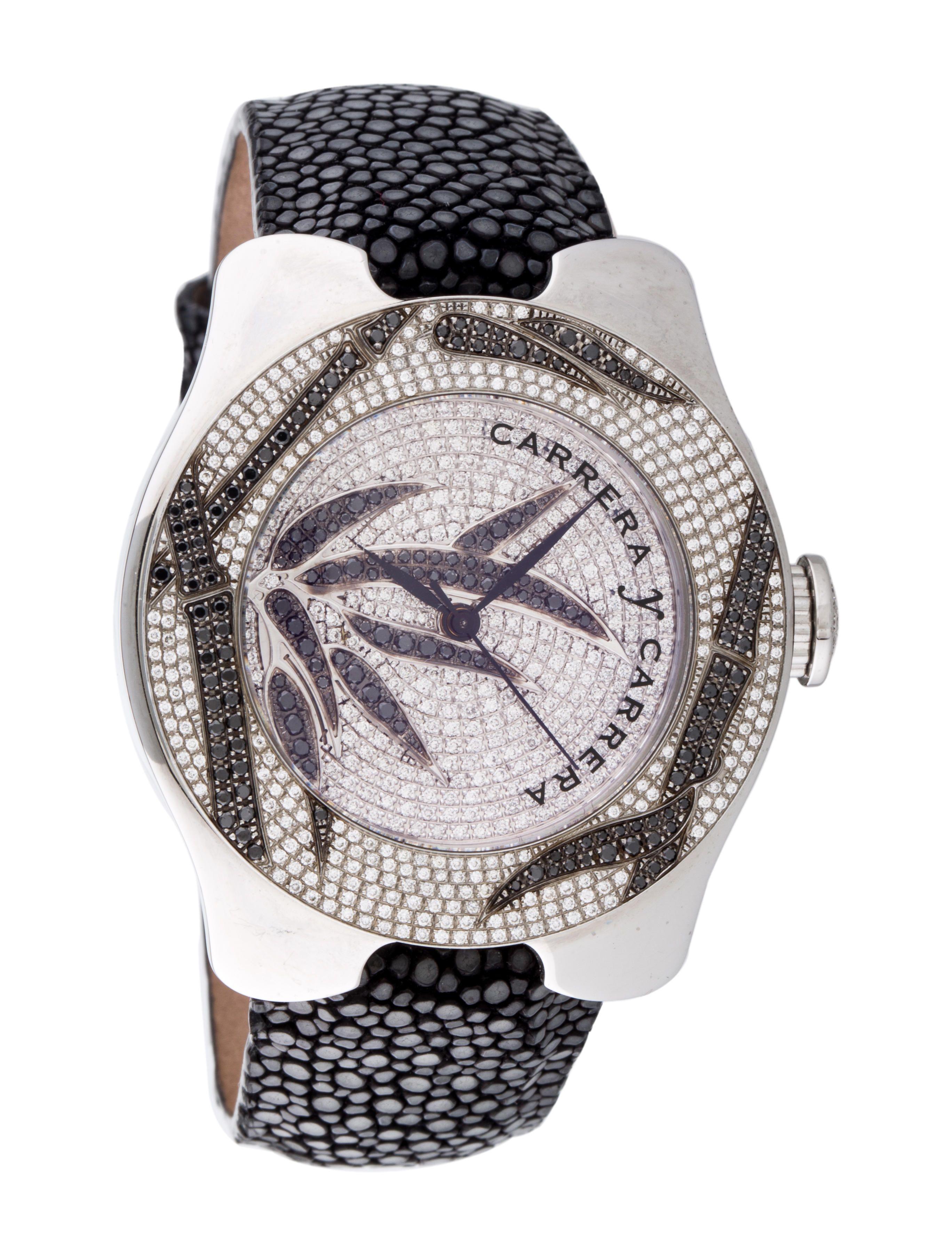 Carrera y Carrera Pavé Diamond Watch