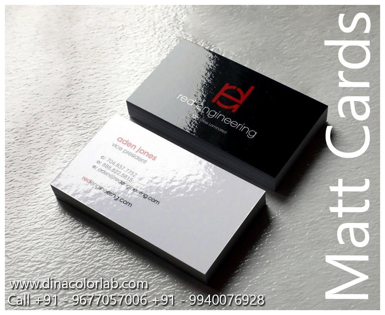 Matt Laminated Business Cards Laminated Business Cards Brown Kraft Business Cards Printing Business Cards