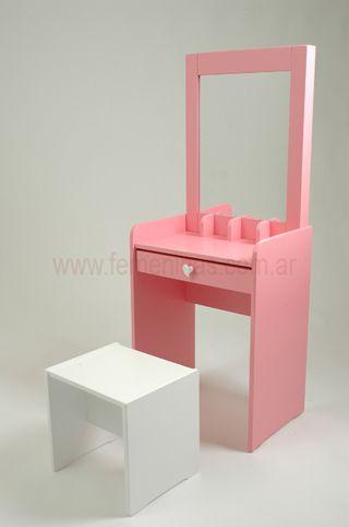 Muebles Para Tocador Tocador Tocador Moderno De Maquillaje - Tocador-madera-nia