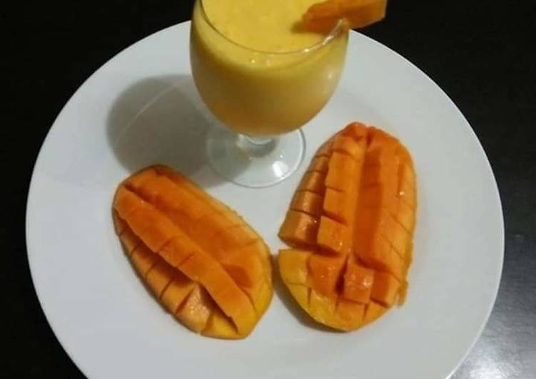 How To Prepare Any Night Of The Week Mango Lassi Best Recipes Resep Di 2020