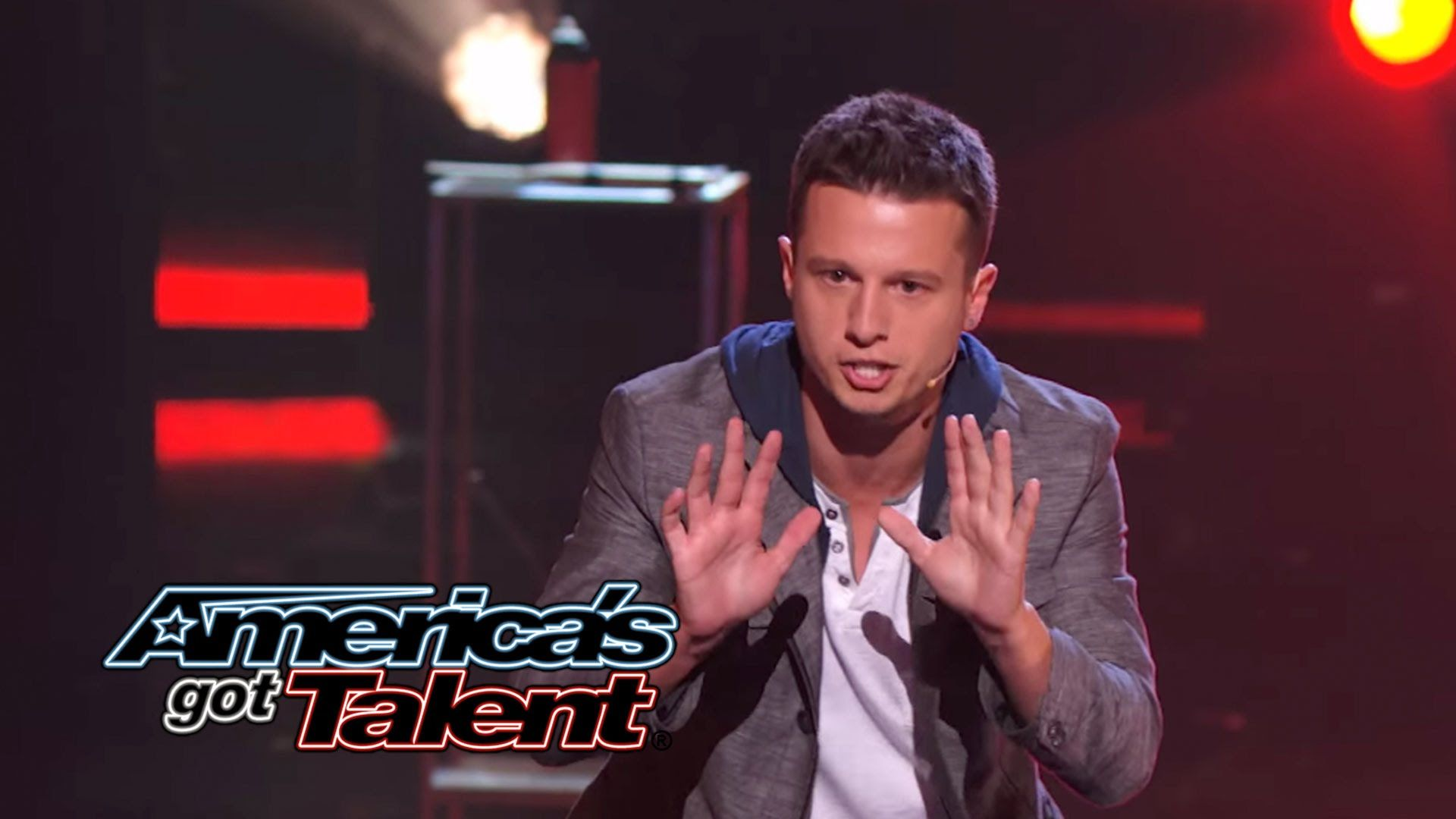 mat franco: magician uses fire to reveal card trick - america's got