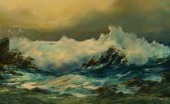 Artista Romero Miner, pinturas de Rosemary Miner
