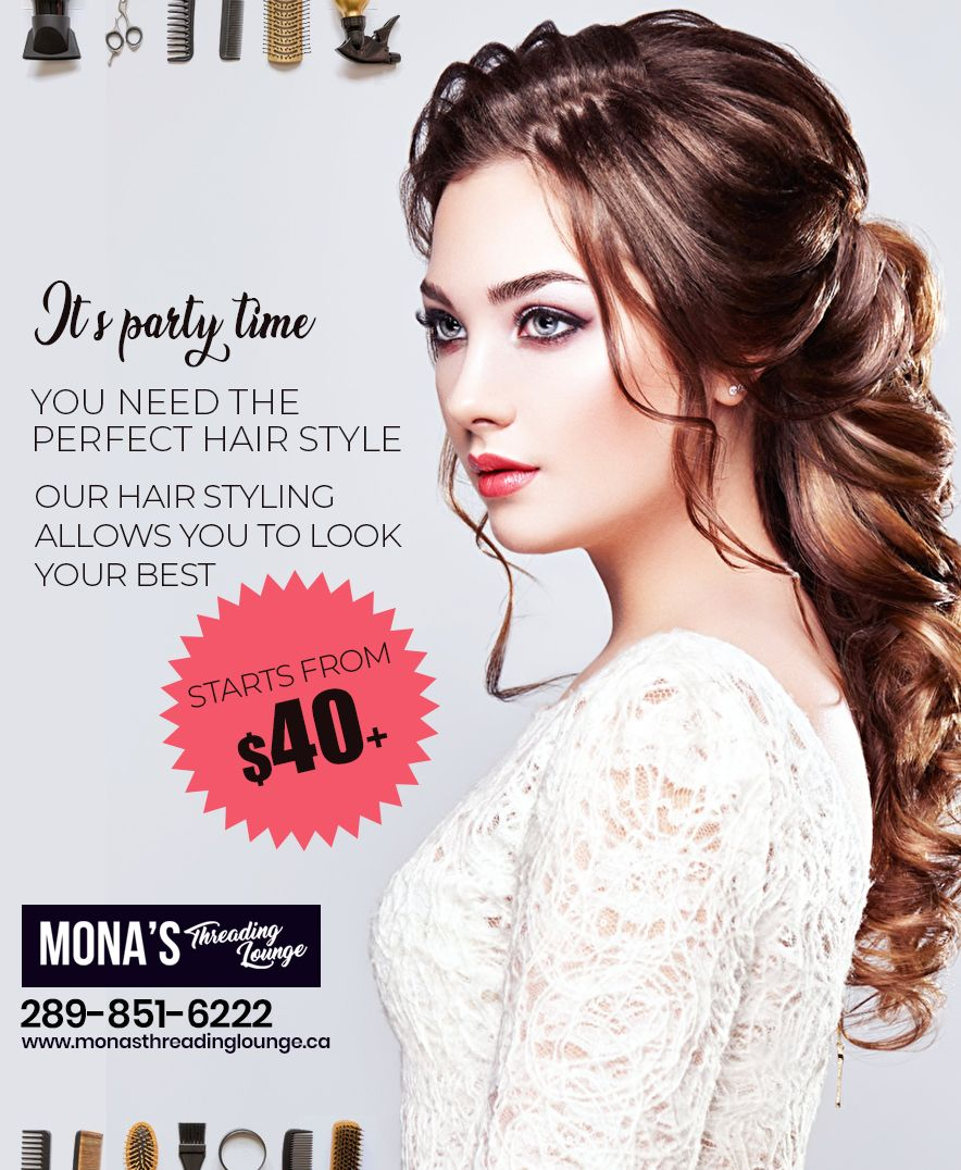 Do you want perfect hair style before going in a party