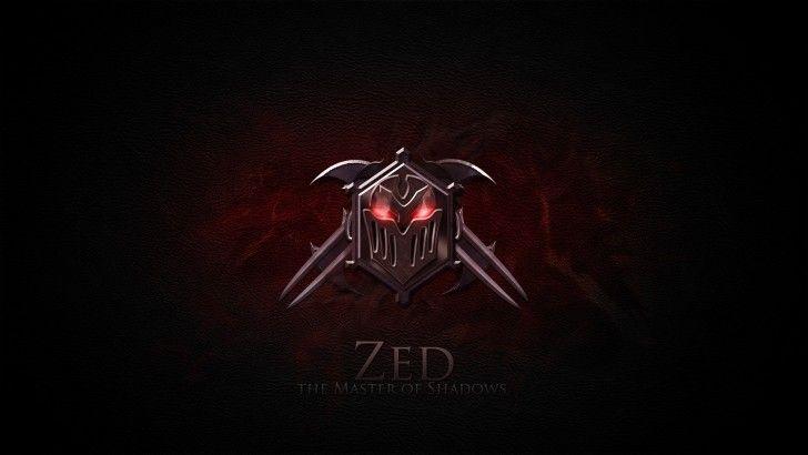Zed Lol Icon Wallpaper Hd