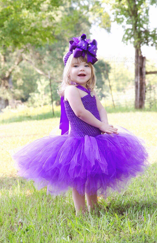 Toddler Purple Tutu Dress Crochet Ropa De Hadas Ropa Disfrases [ 1500 x 971 Pixel ]