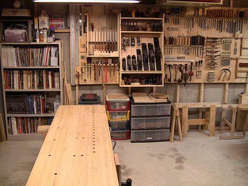 That S A Nice Workshop Layout Got Wood Workshop Workshop