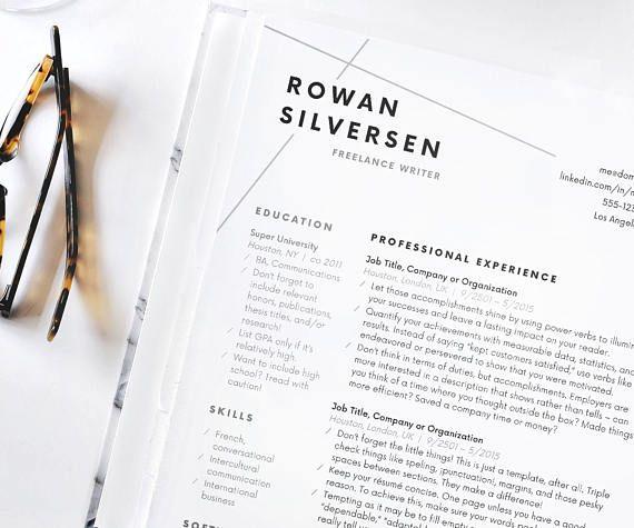 Pin by Laura Froger on Design Pinterest Modern resume