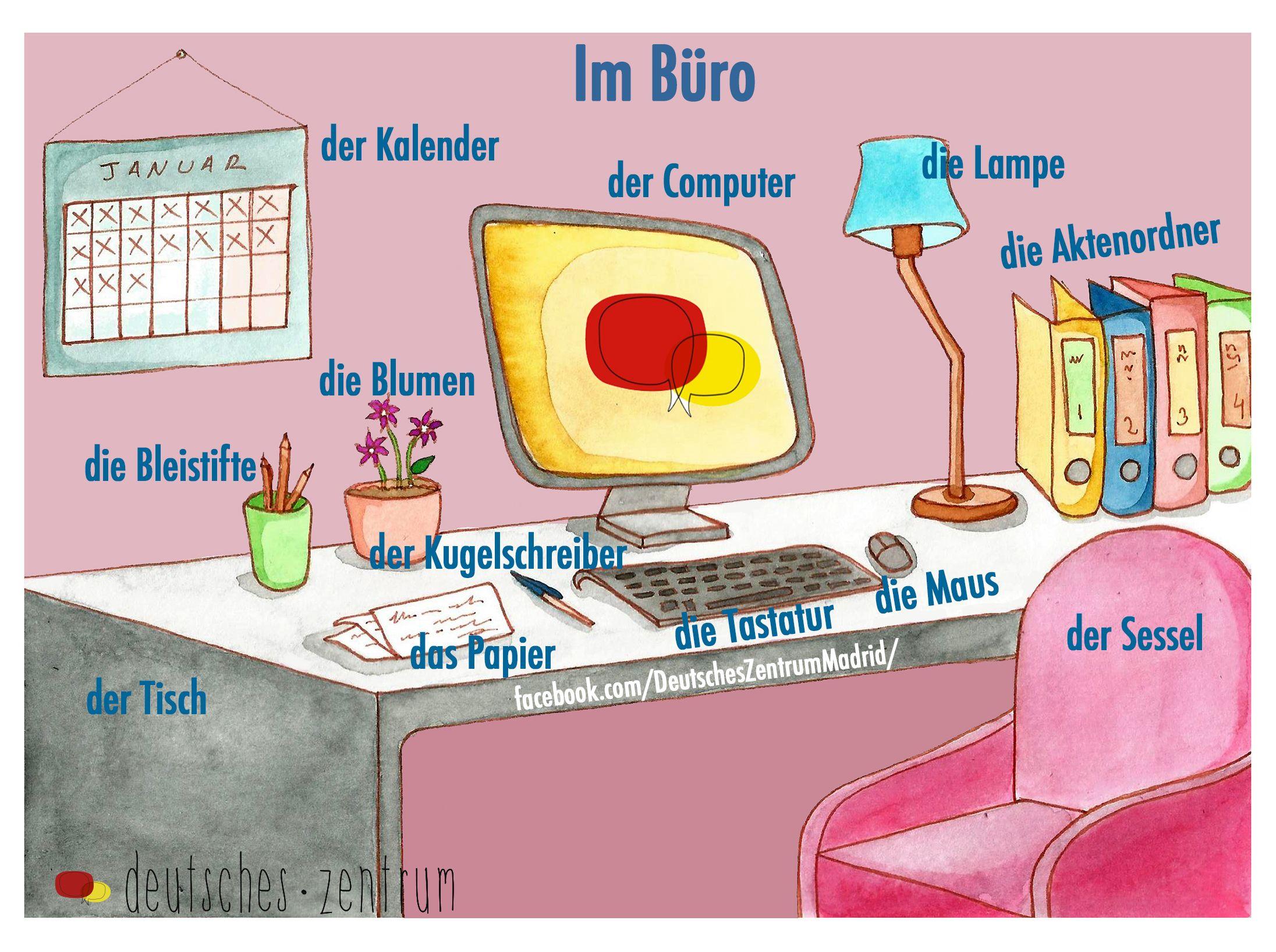 im b ro deutsch wortschatz vocabulario daf german alem n n met pinterest idioma alem n. Black Bedroom Furniture Sets. Home Design Ideas
