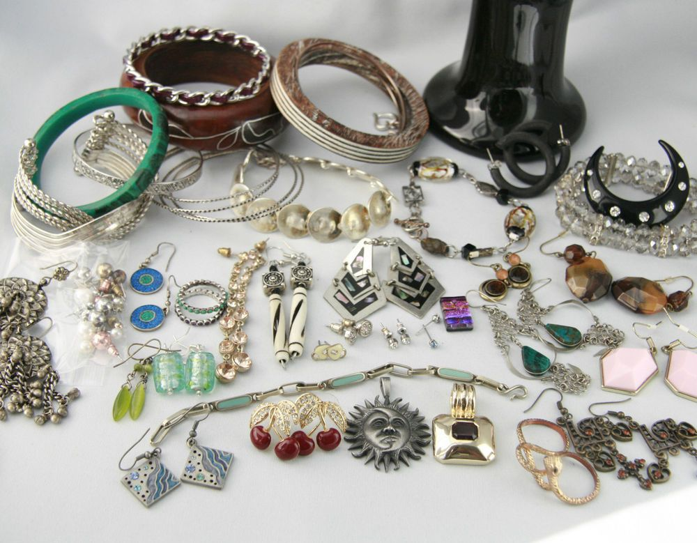 Jewelry Lot Vintage to Now Sarah Richardson Coro Claires Aldo Natural Stone Etc