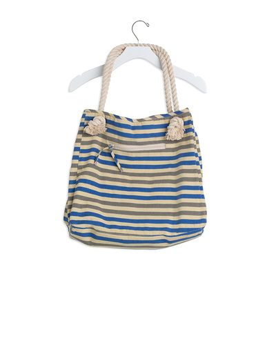 Buji Baja Stripe Canvas Day Tote