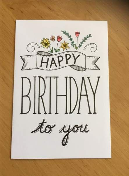 35+ Ideas about Birthday Cards Designs|BDay Card Ideas