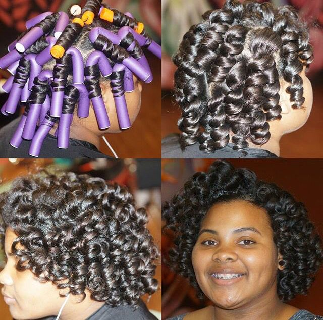 Hair Tip: If You Don't Have The Purple Flexi Rods, Use The