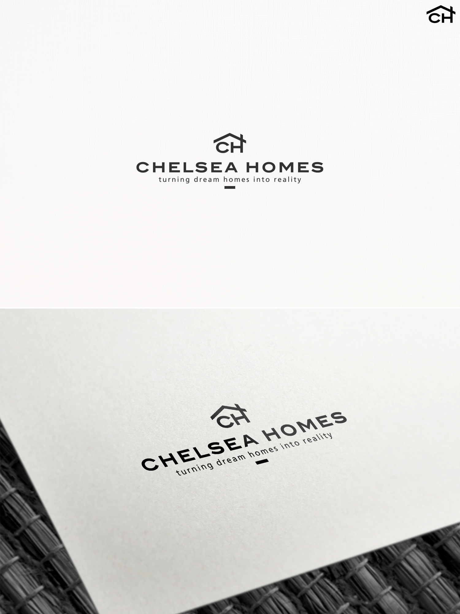 Generic logo designs sold | Letter H as a house logo designs sold ...