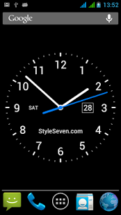 Analog Clock Live Wallpaper 7 Download From Our Apps Store Androidworldstore Live Wallpapers Analog Clock Clock