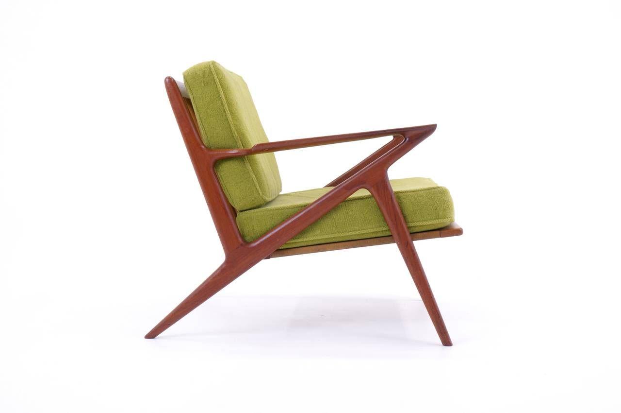 Poul Jensen, Built By Selig, Z Chair, Teak, 1960 1969