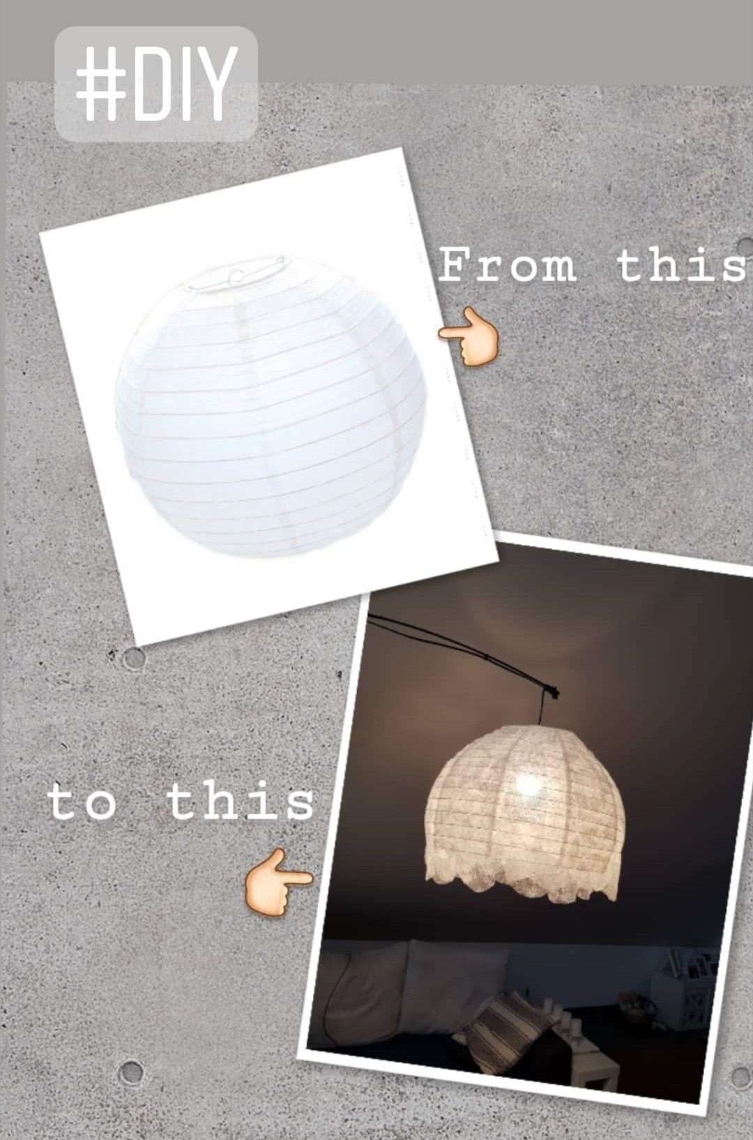 Pin von Martina Q-fer auf Handmade | Lampenschirm papier ...