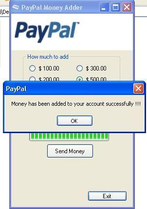 PayPal free generator