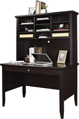 Staples 174 Has The Altra Amelia Desk And Hutch Espresso