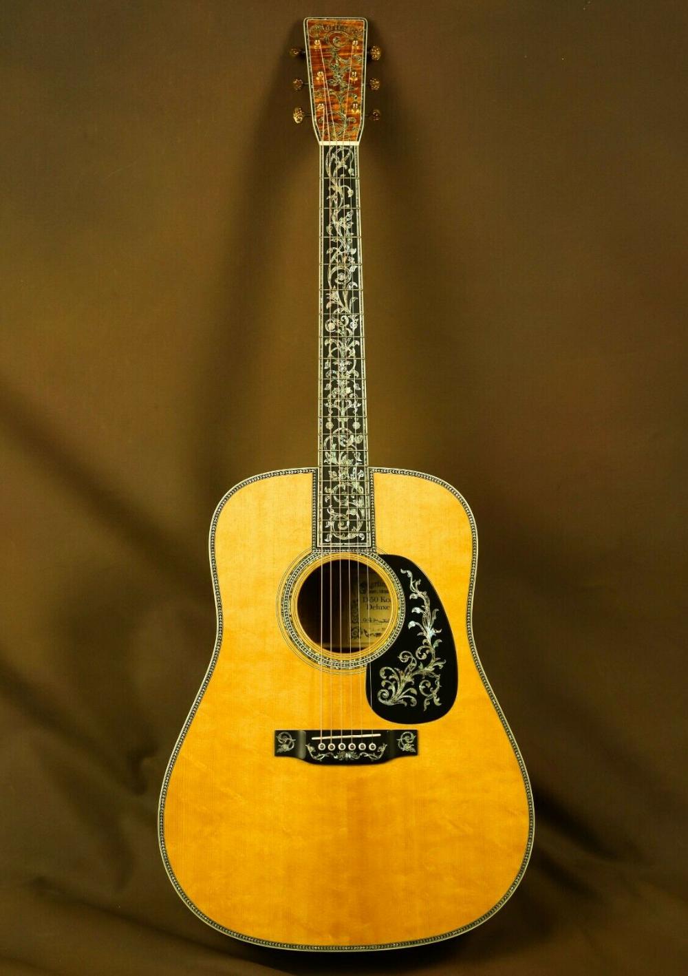 Martin D 50 Serial Number 1 Deluxe Koa Custom Acoustic Guitar Ebay Custom Acoustic Guitars Acoustic Guitar For Sale Acoustic Guitar