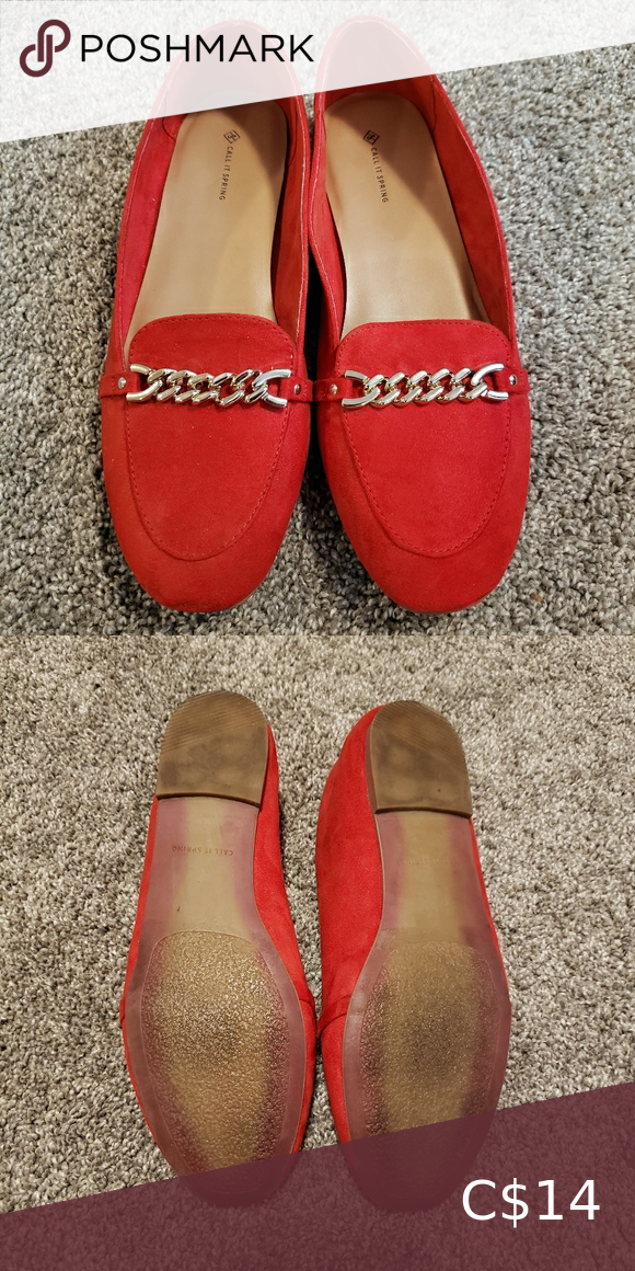 Call it spring suede flat