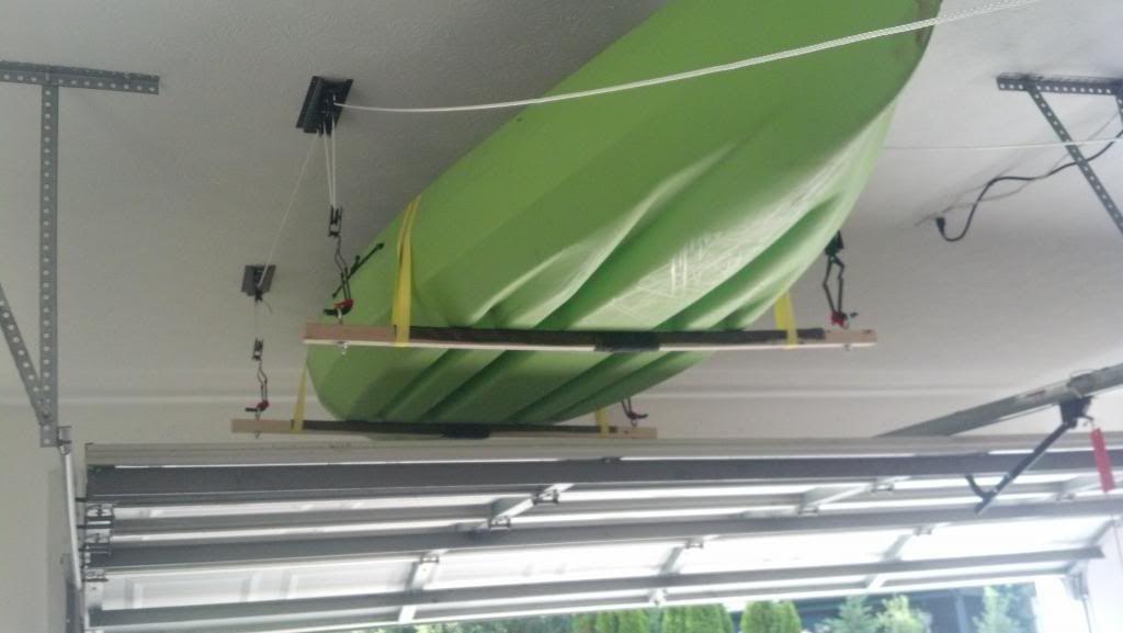 Hanging Kayak From Ceiling