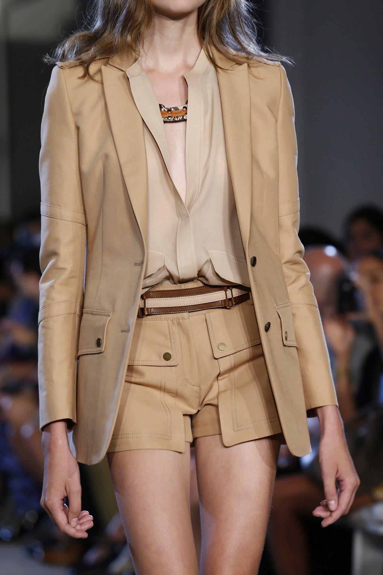 Close up of Belstaff S/S 2013 in New York.