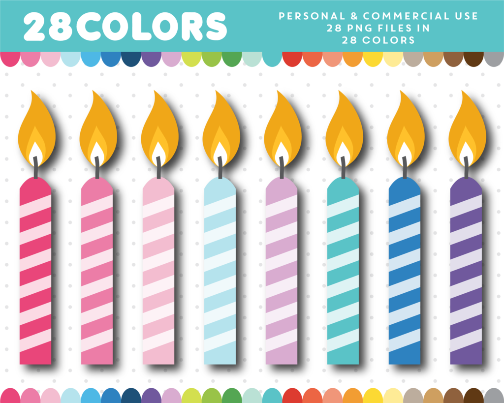 Birthday Candle Clipart Cl