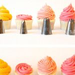 {Cupcake Decorating} Basic Icing/Frosting Piping Techniques: How to frost cupcakes with piping tips