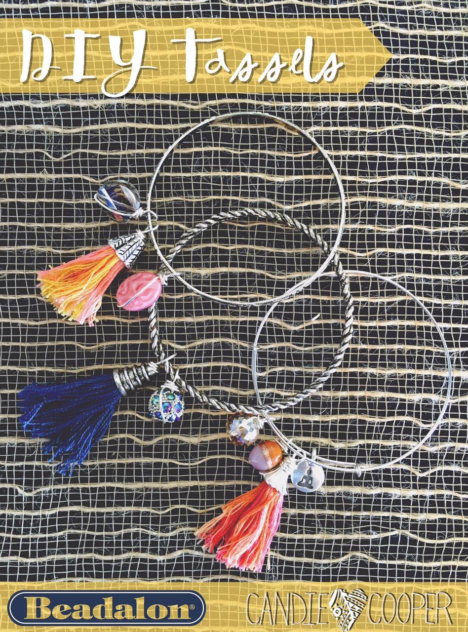 Fringe with Benefits DIY tassel maker tool Diy jewelry
