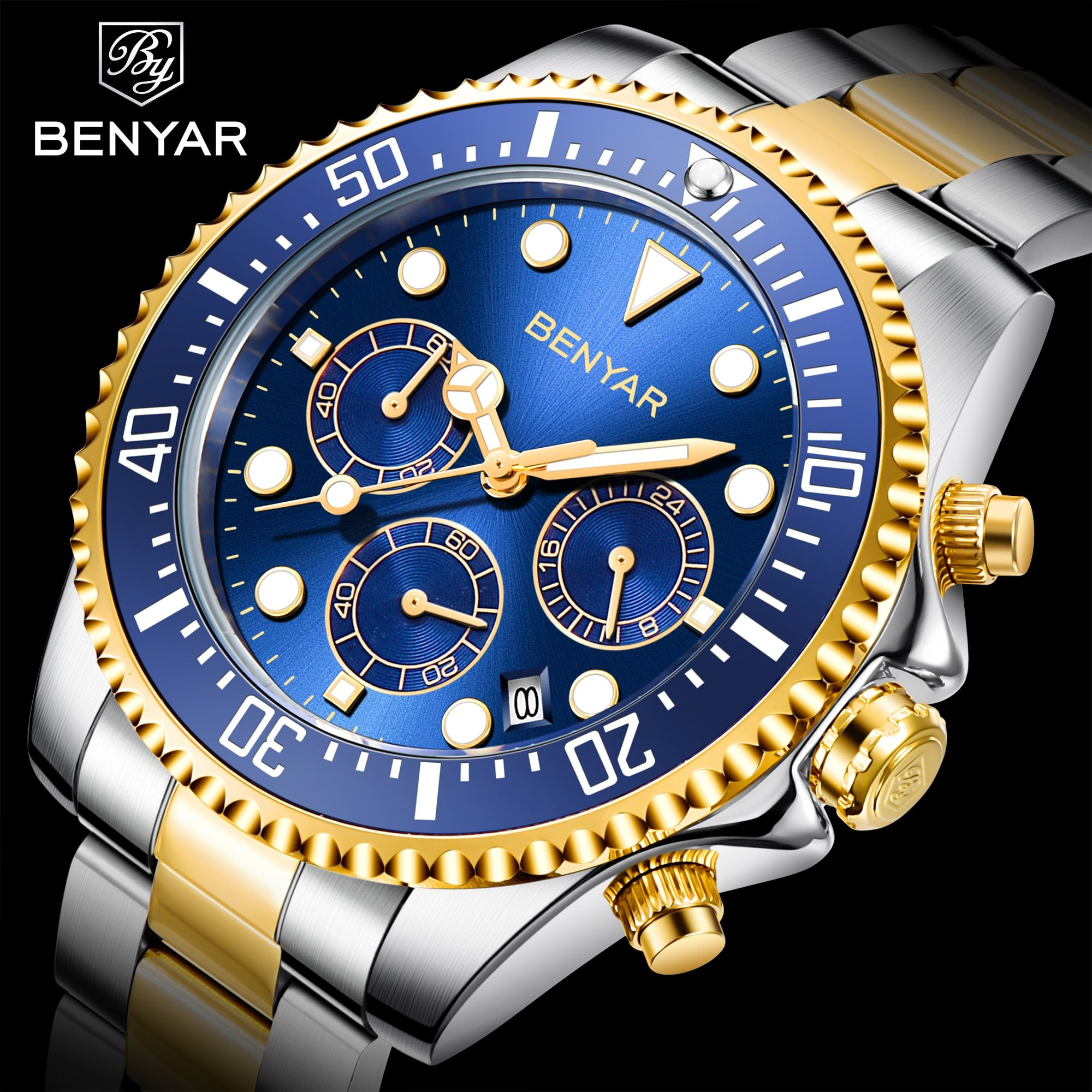 2020 Mens Casual Sport Watch Top Brand Luxury Army