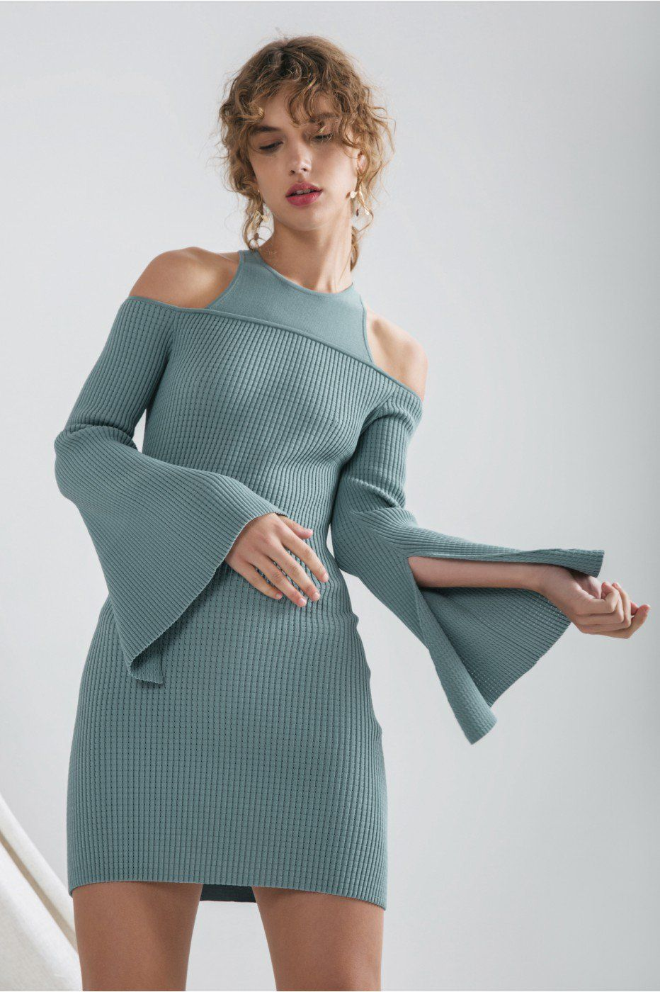 Womens Emerge Knit Dress C/Meo Collective Amazing Price Sale Fashion Style Latest For Sale Free Shipping Choice 0ZTqZeOn