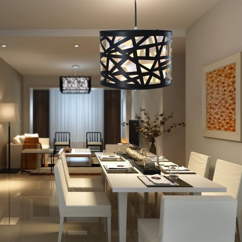 Comprar moderno minimalista comedor l mparas de techo e27 iluminaci n sal n - Lamparas colgantes minimalistas ...