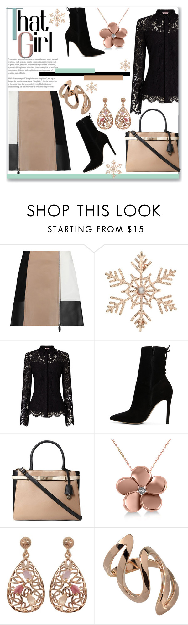 """""""That Girl... #2"""" by helenaymangual ❤ liked on Polyvore featuring Alexander Wang, John Lewis, ALDO, Dorothy Perkins, Allurez and Luxiro"""