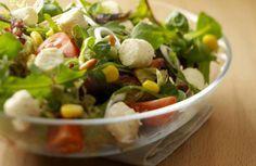 Gemengde salade met Boursin