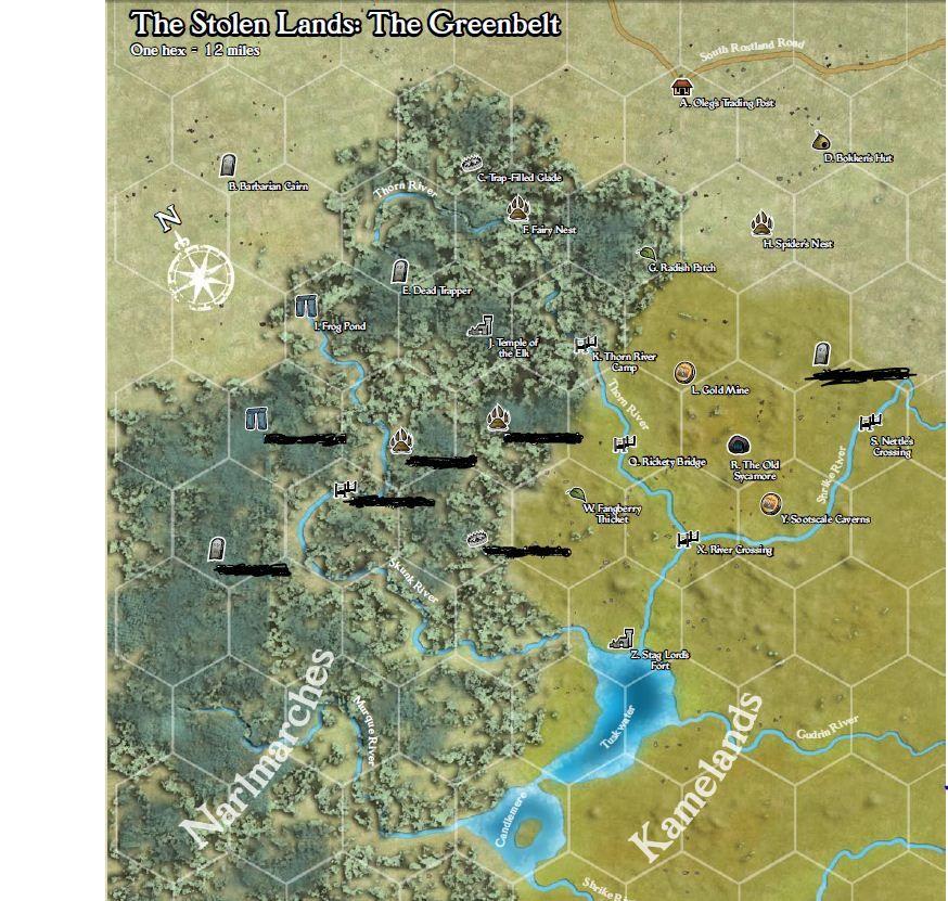 45++ Stolen lands ideas