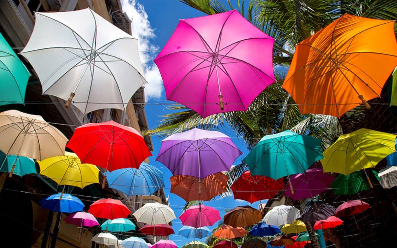 Colourful Umbrella 3d Art Wallpaper Hd Wallpapers Colorful Umbrellas Art Wallpaper Umbrella