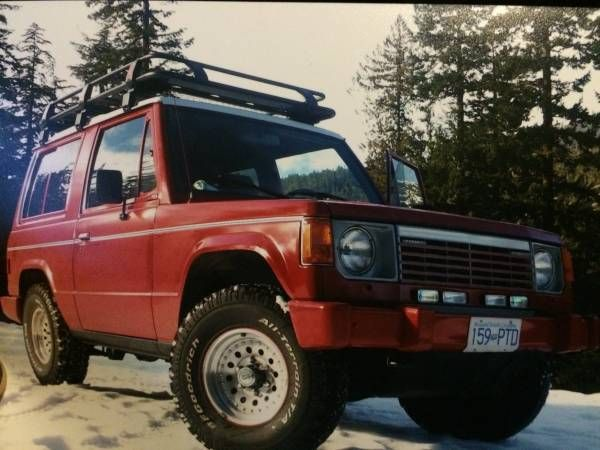 1987 Dodge Raider Manual For Sale In Delta British Columbia