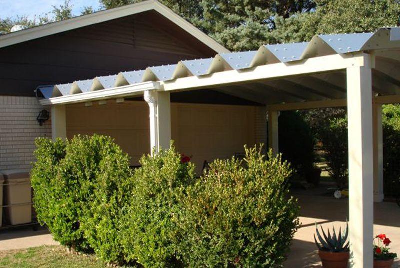 attached carport ideas Outdoor covered patio, Pergola