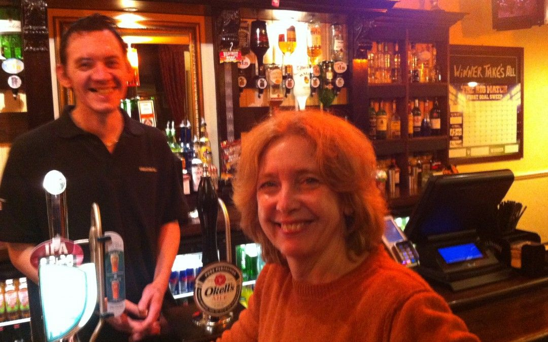 An Evening Out In Basfordu2026Not spent in a pub! Louise Burfitt - bar manager