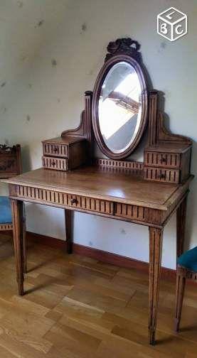 Gis Coiffeuse Ancienne Avec Miroir Bayeux Ameublement Calvados Leboncoin Fr Mobilier De Salon Relooking De Mobilier Decoration Interieure